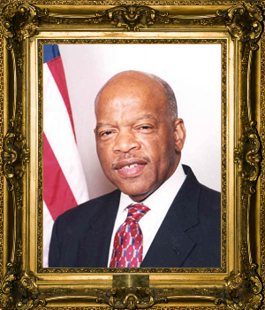 Congressman John Lewis is an Equality Hero because of his support for gay, ...